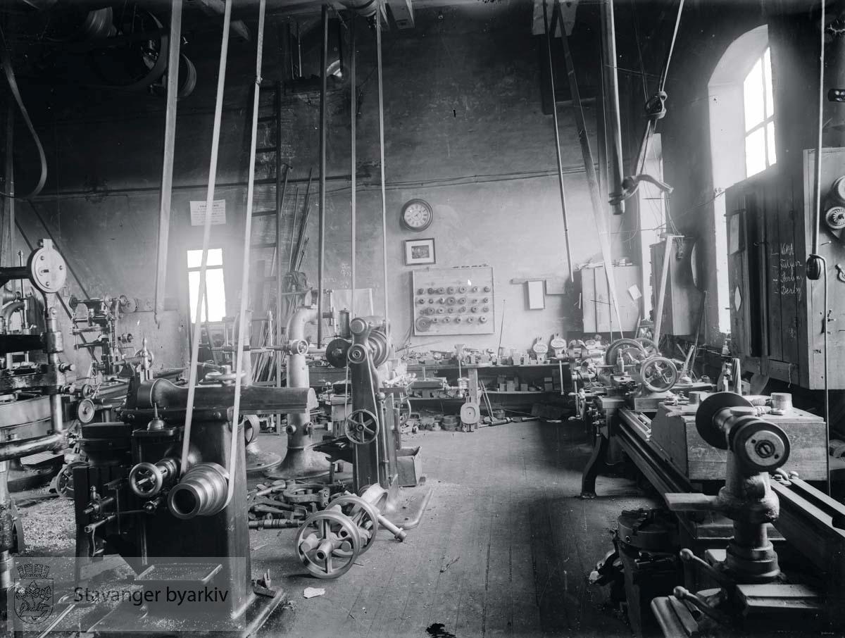 Interiør fra ukjent fabrikk