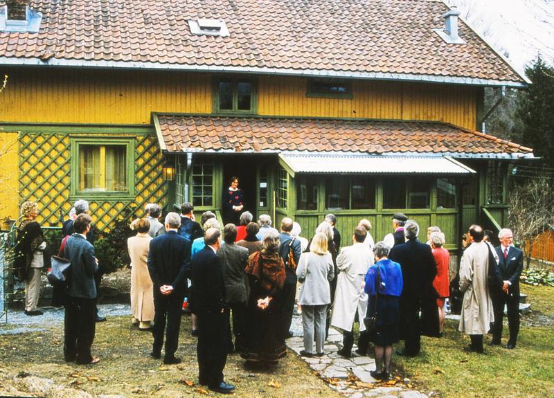 Omvisning på Labråten. (Foto/Photo)