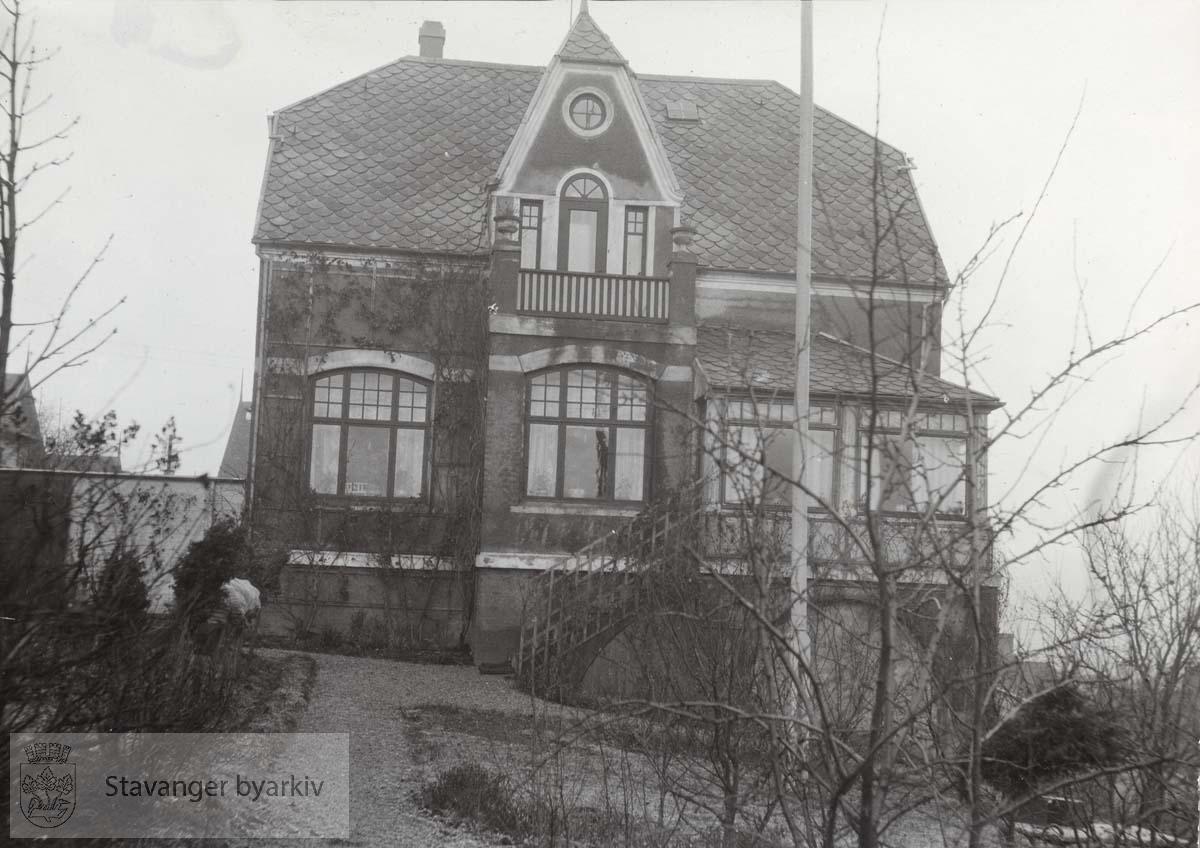 Bernhard Sandstøls hus i Vålandsgate 28
