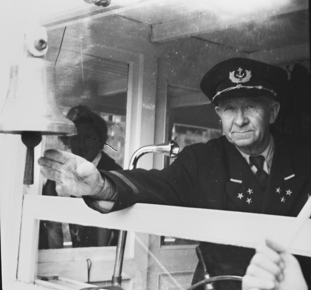 Kaptein Harald Nilsen på D/S Turisten