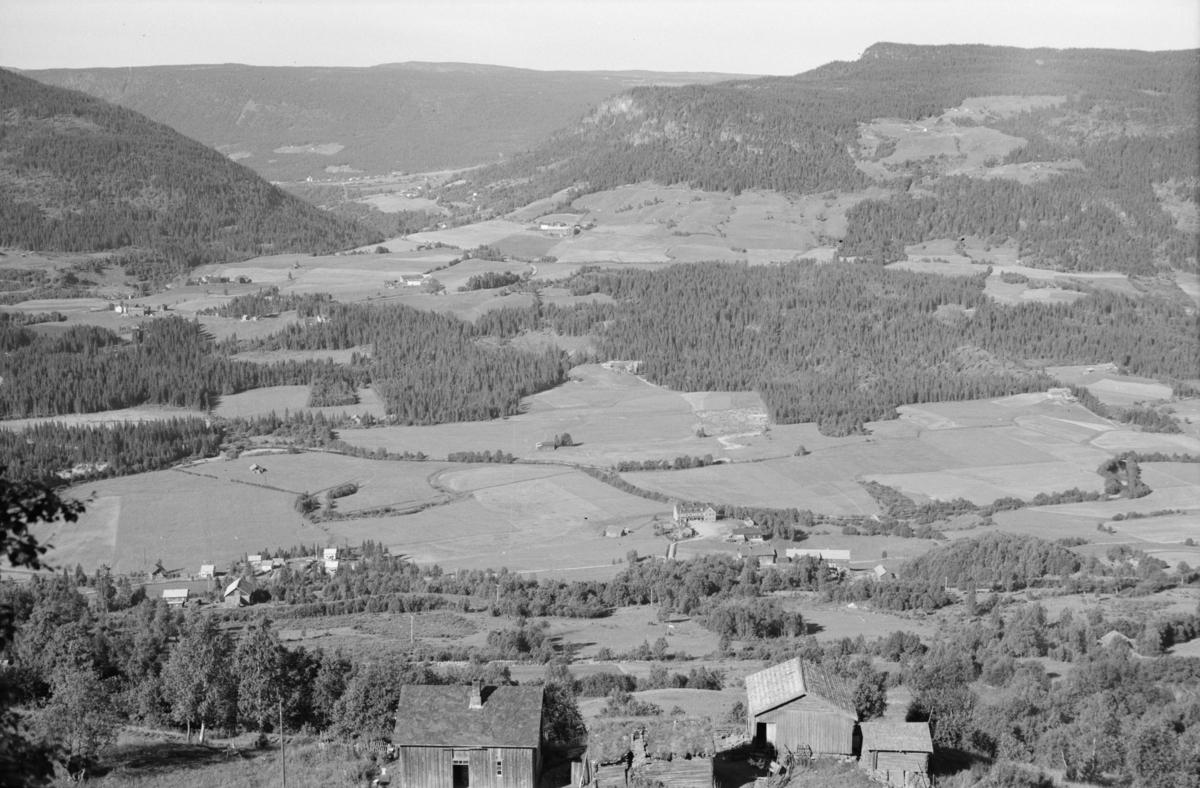 Einstadbergum sett mot Segalstad bru
