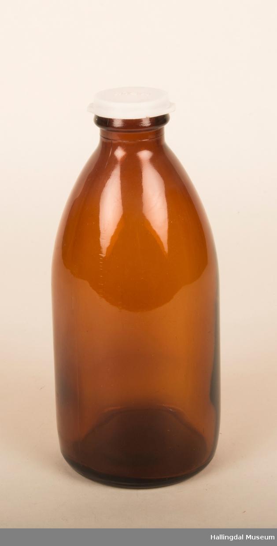 Melkeflaske med kork