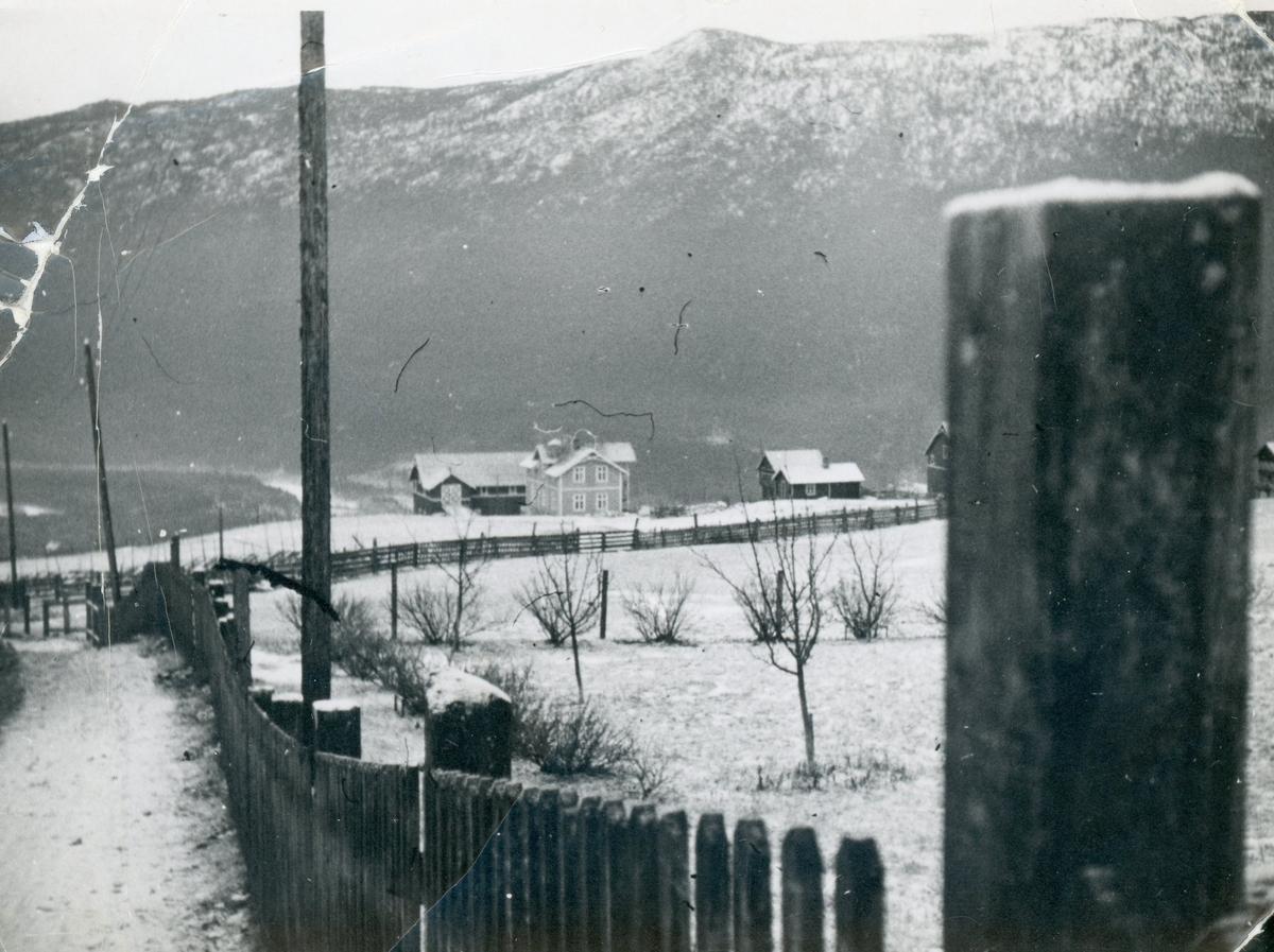 Golberg 1936 sett frå gutu ved Kinneberg.
