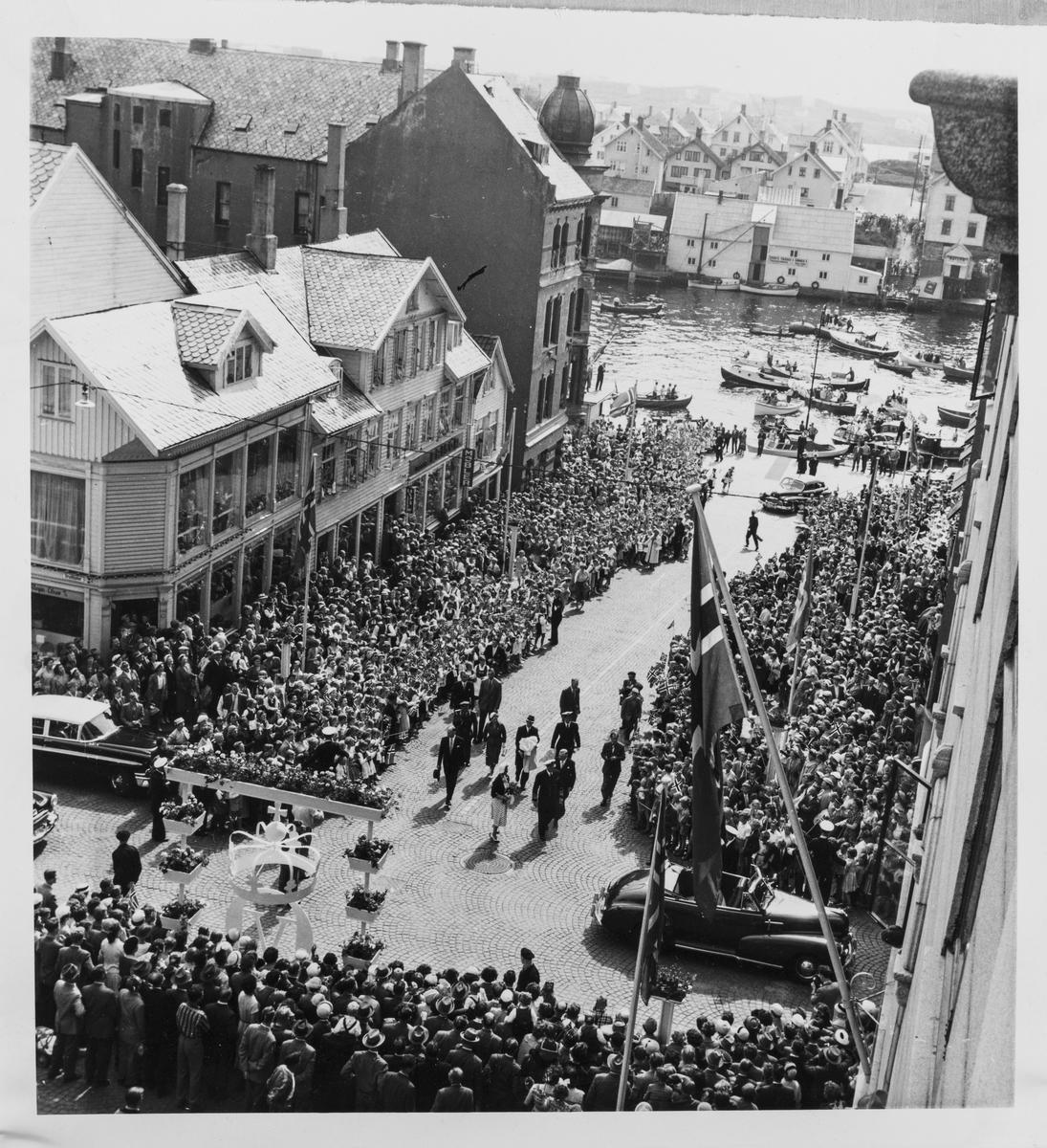 Kong Olav V.s signingsferd 27. juni 1958.