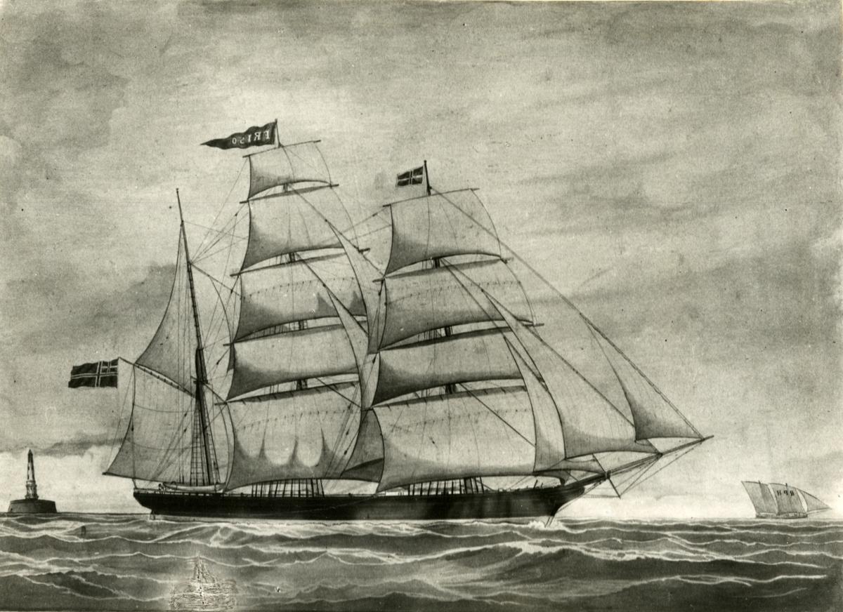 Bark 'Friso' (b.1856, Amsterdam, Holland)