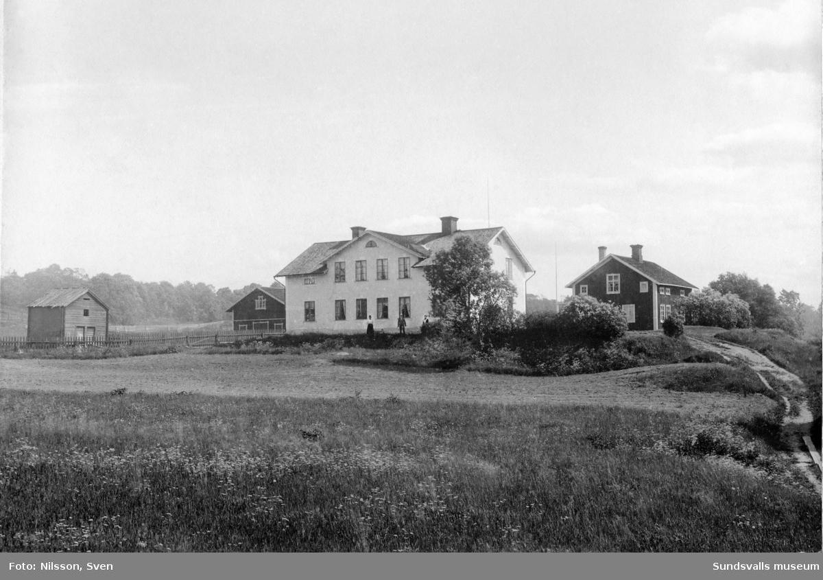 Disponentbostaden vid Hofvid, Alnö. Uppfördes av norrmannen Anders Brunes, senare disponent.