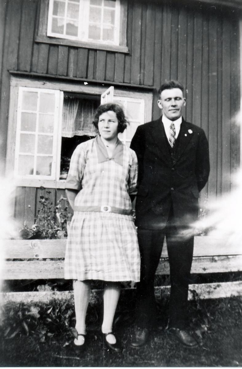 Foran Borterstua på Hofsøy, Senja.