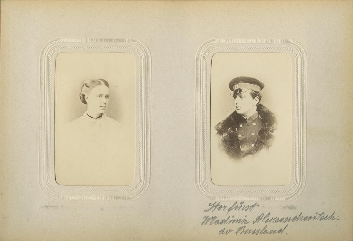 Porträtt av okänd kvinna.