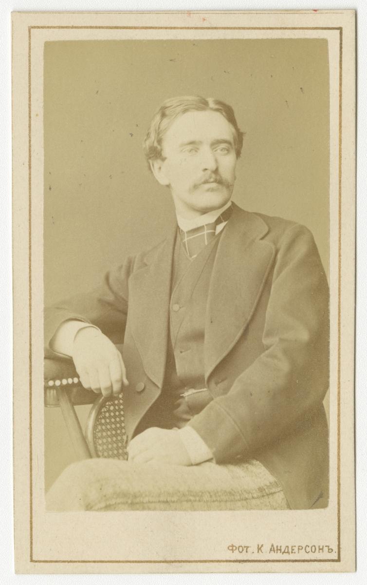 Porträtt av okänd man.