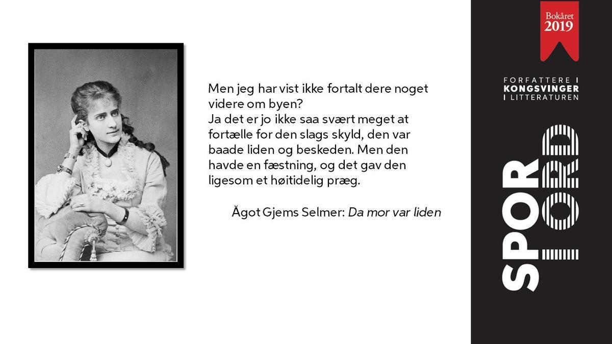 SPOR I ORD Ågot Gjems Selmer