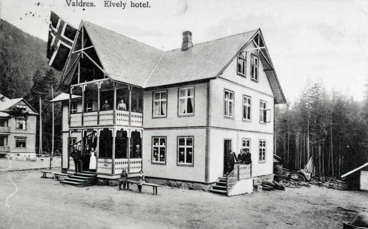 Elvely Hotel, Fagernes, 1904