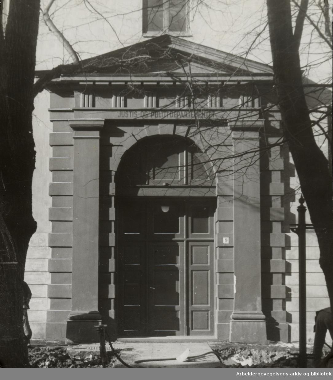 Justisdepartementet. 1939