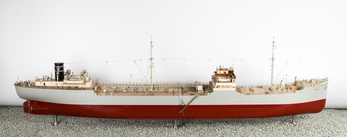 Skipsmodell av M/T Noreg