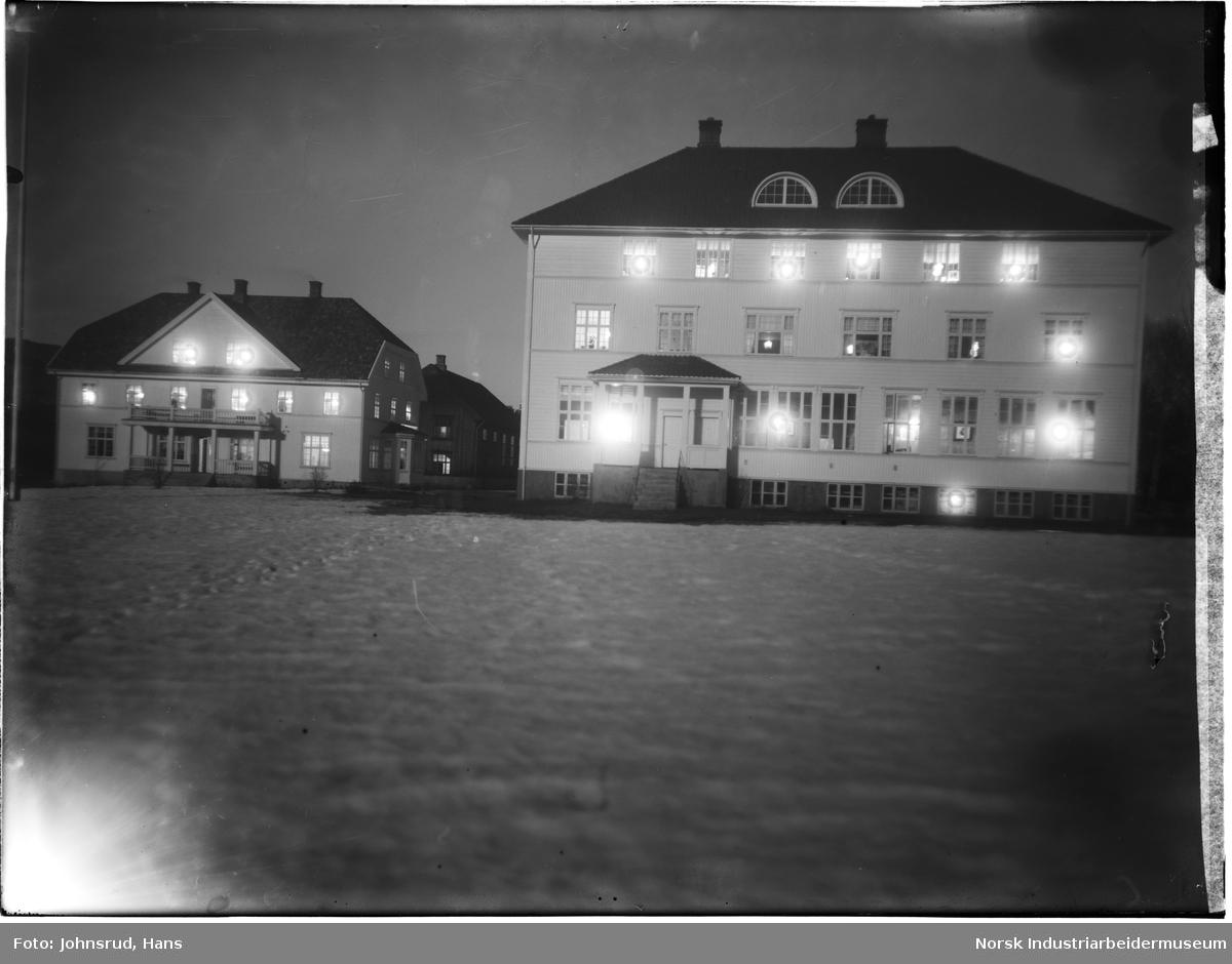 Sagavoll Ungdomskole vinterstid 1922