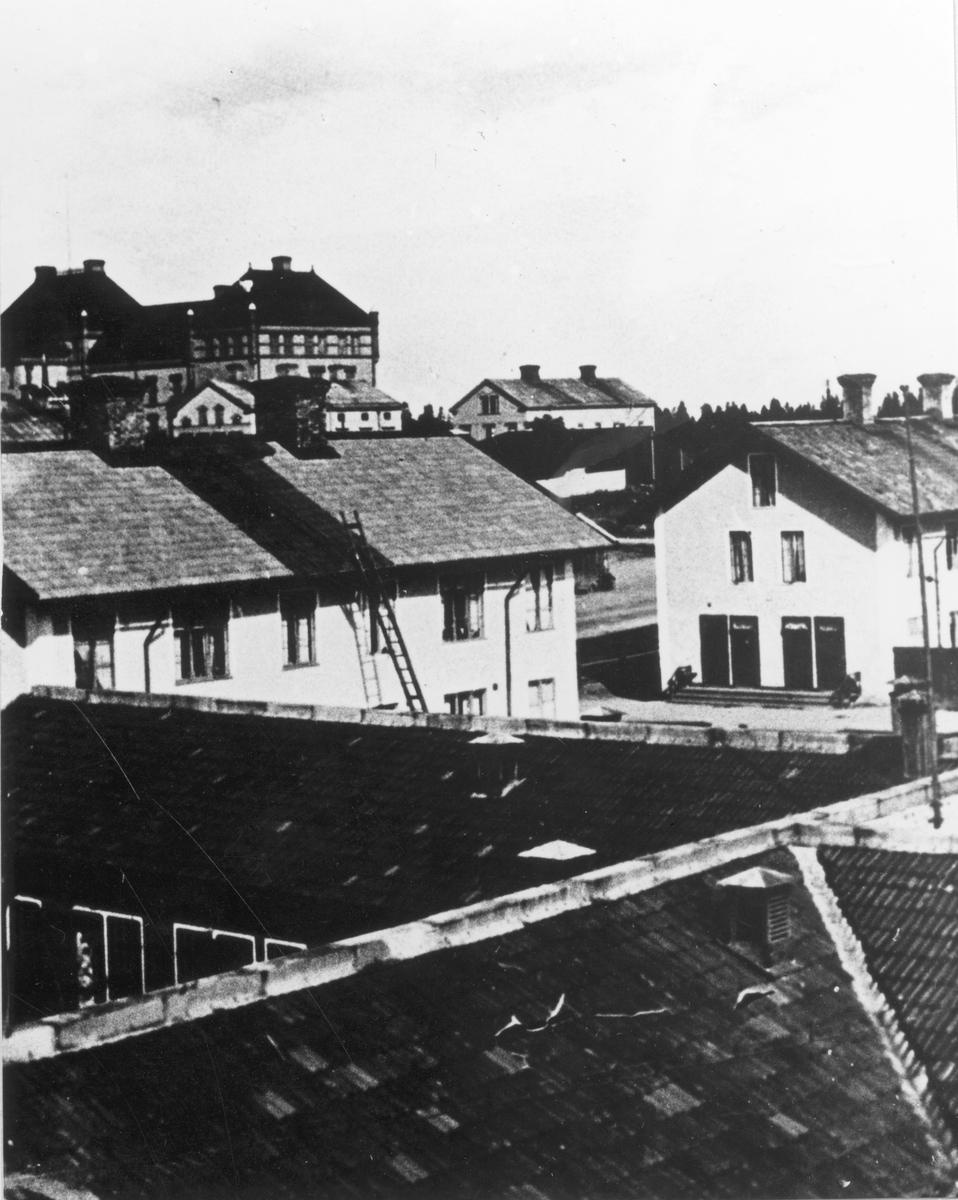 Korsnäsgårdarna på Brynäs.