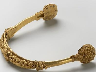 Gullsporen. Foto: Kulturhistorisk museum