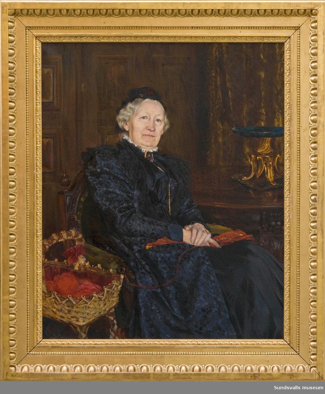Porträtt av Alona Bünsow [Oljemålning]