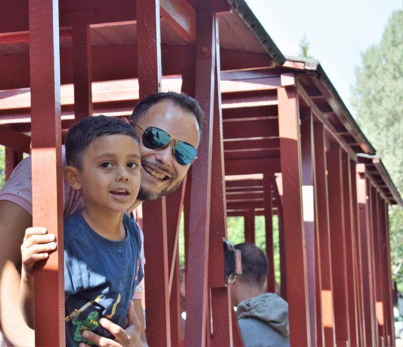 På tur med Lommedalsbanen