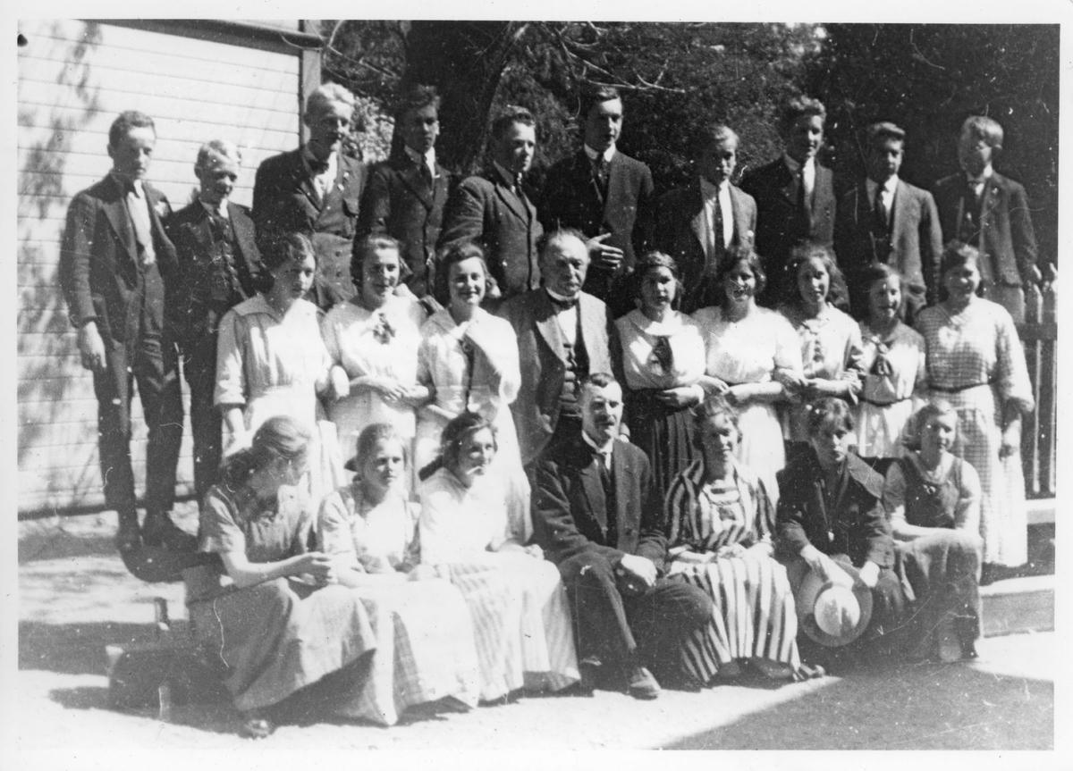 Middelskolen Egersund 1921
