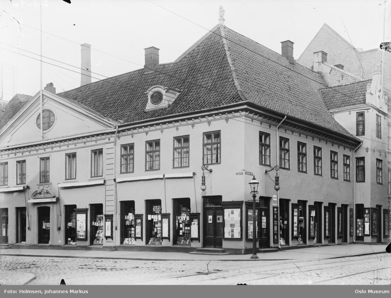 Collettgården, ca. 1915.