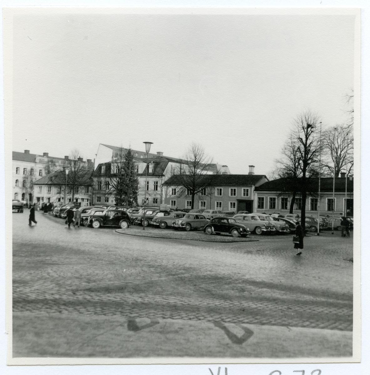 Västerås. Fiskartorget mot nordost.