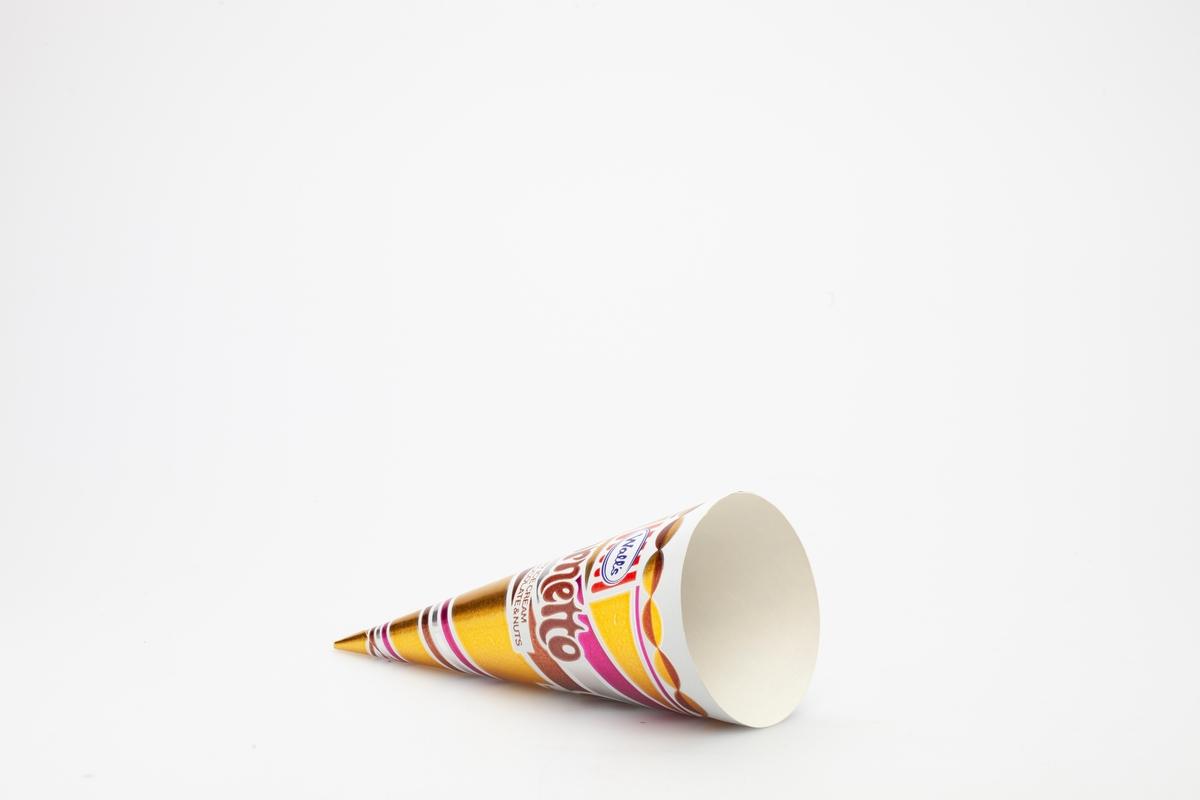 Diagonale striper i ulike farger