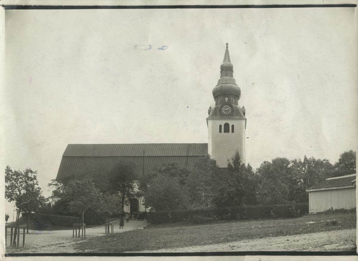 Kyrkan i Hudiksvall.
