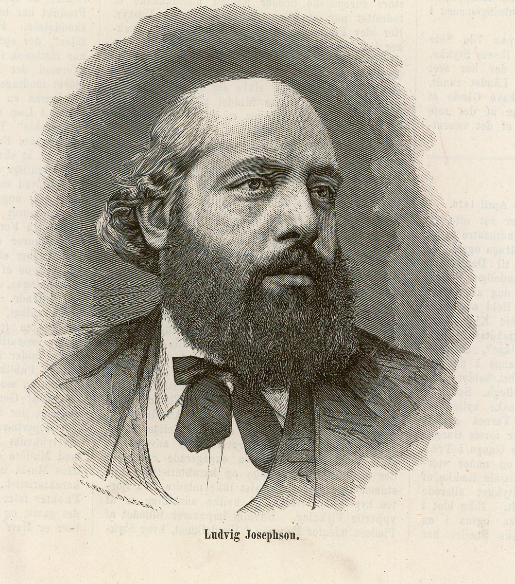 Josephson, Ludvig Oscar (1832 - 1899)