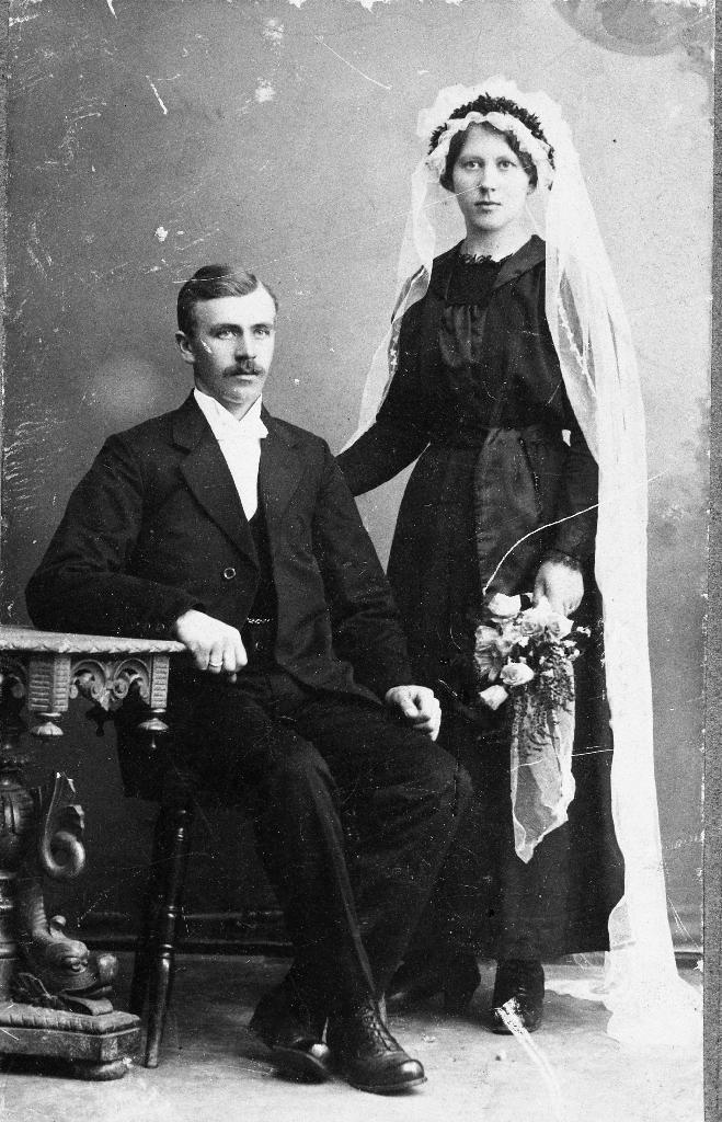 Reinert Kverneland og Lisebet f. Kalberg