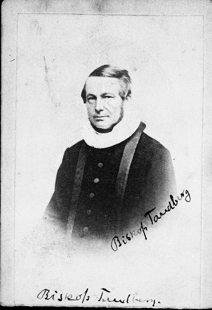 Biskop (stiftsprost) Jens Frølich Tandberg (1852 - 1922)