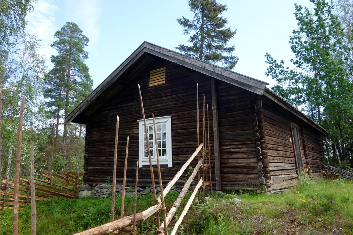 Seterhytte fra Dorrsvangen, fra ca. 1830. Flyttet ca. 1960.