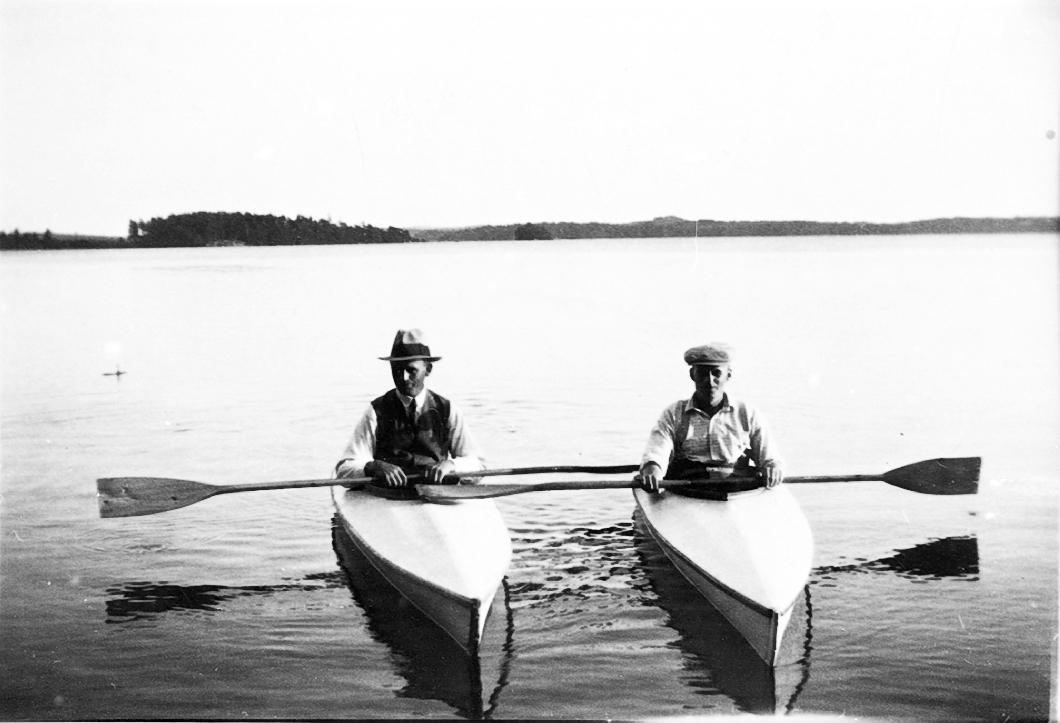 Ludvig och Hugo Johansson.