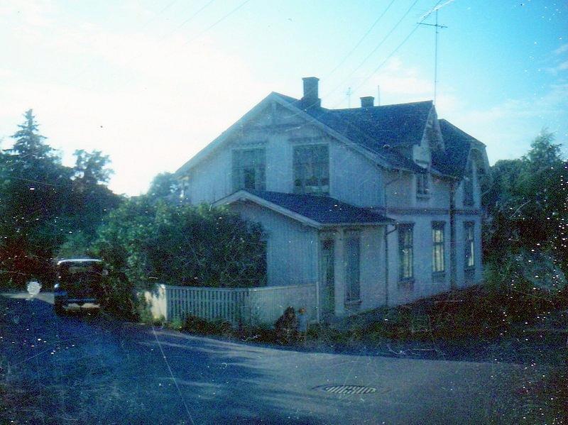 Fra Glemmengata i Fredrikstad. Bildet er lånt av Litteraturhuset i Fredrikstad. (Foto/Photo)