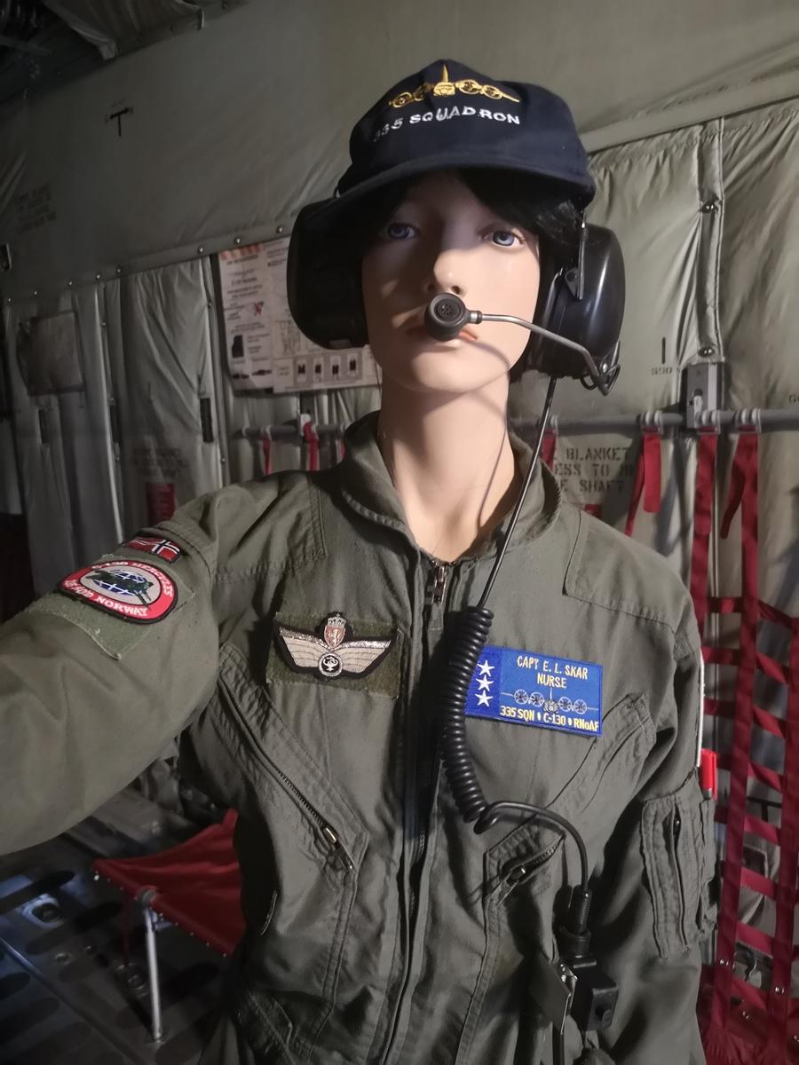 Flightsuit sykepleier