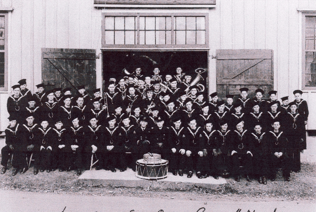 """ Camp Norway"", Lunneburg, Nova Scotia. Luneburg Sea Cadet Corps, ""Neptune"", 1942-43."
