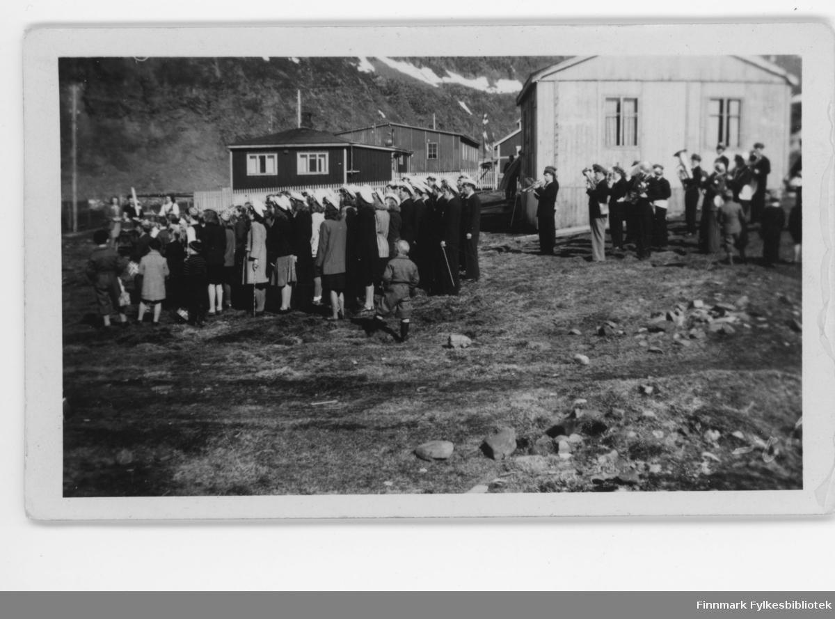 17. mai feiring i Nordvågen ca. 1948.