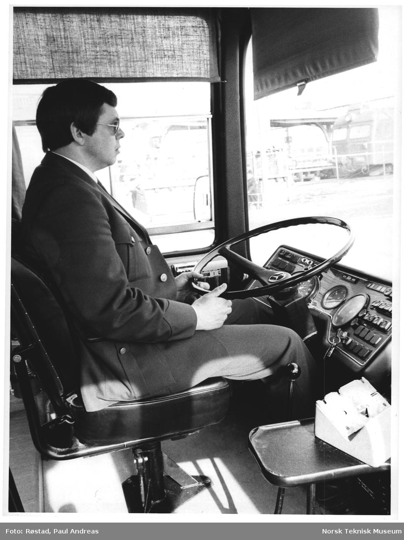 Oslo, bussjåfør