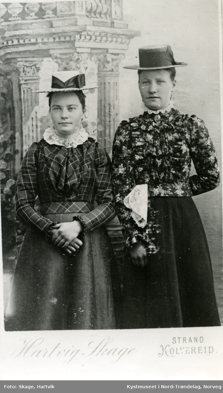 Charlotte og Kaja Skage