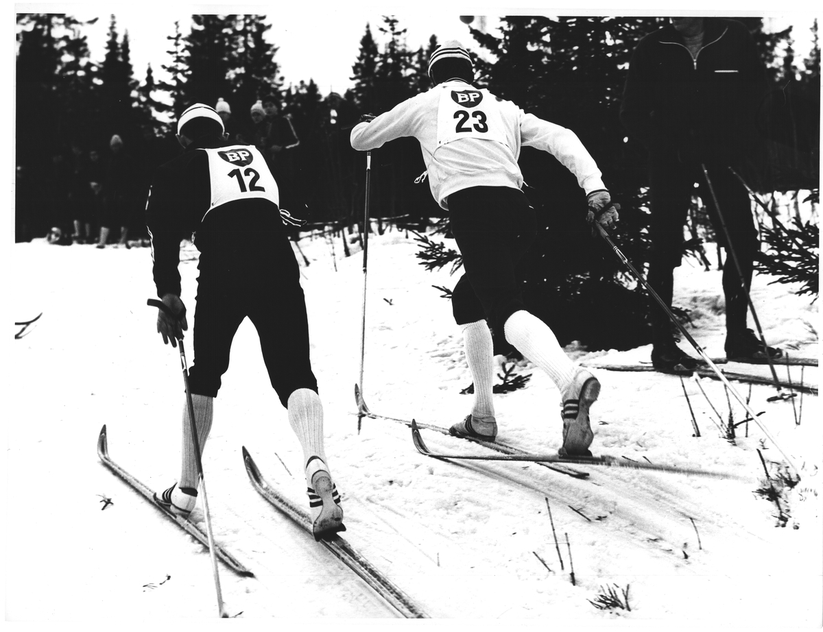 Johs Harviken (23). Stilstudie i BUL-sprinten