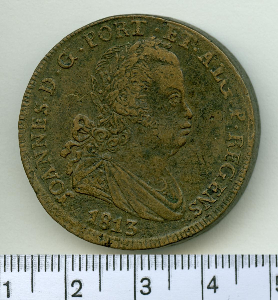 40 Reis 1813 Portugal Maria I.