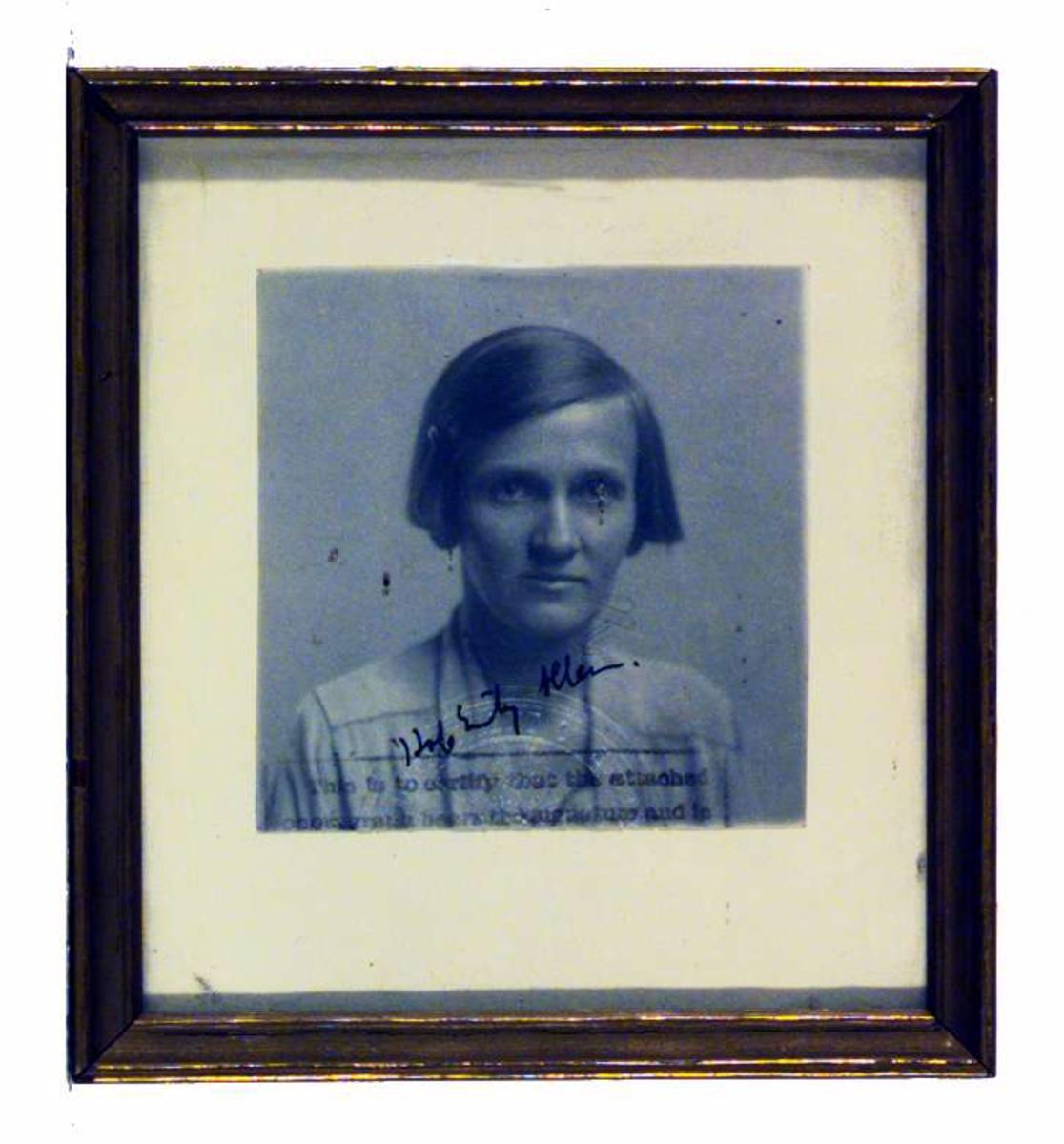 Portrett av Hope Emily Allen