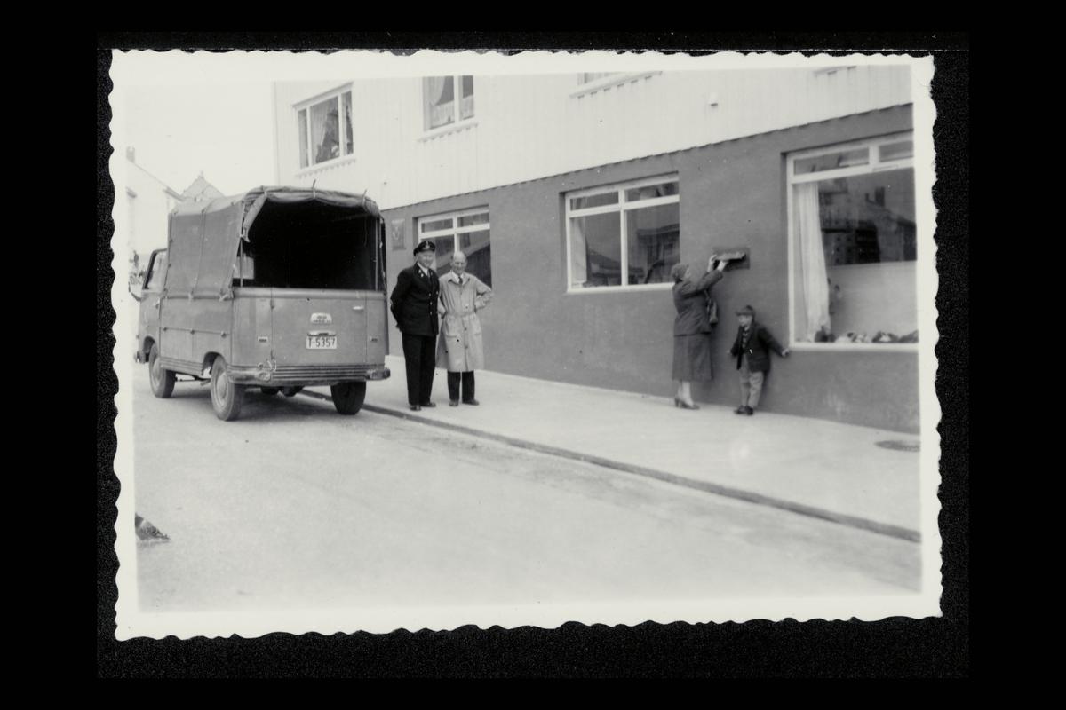 eksteriør, postkontor, 6500 Norlandet, postbud, innstikkpostkasse