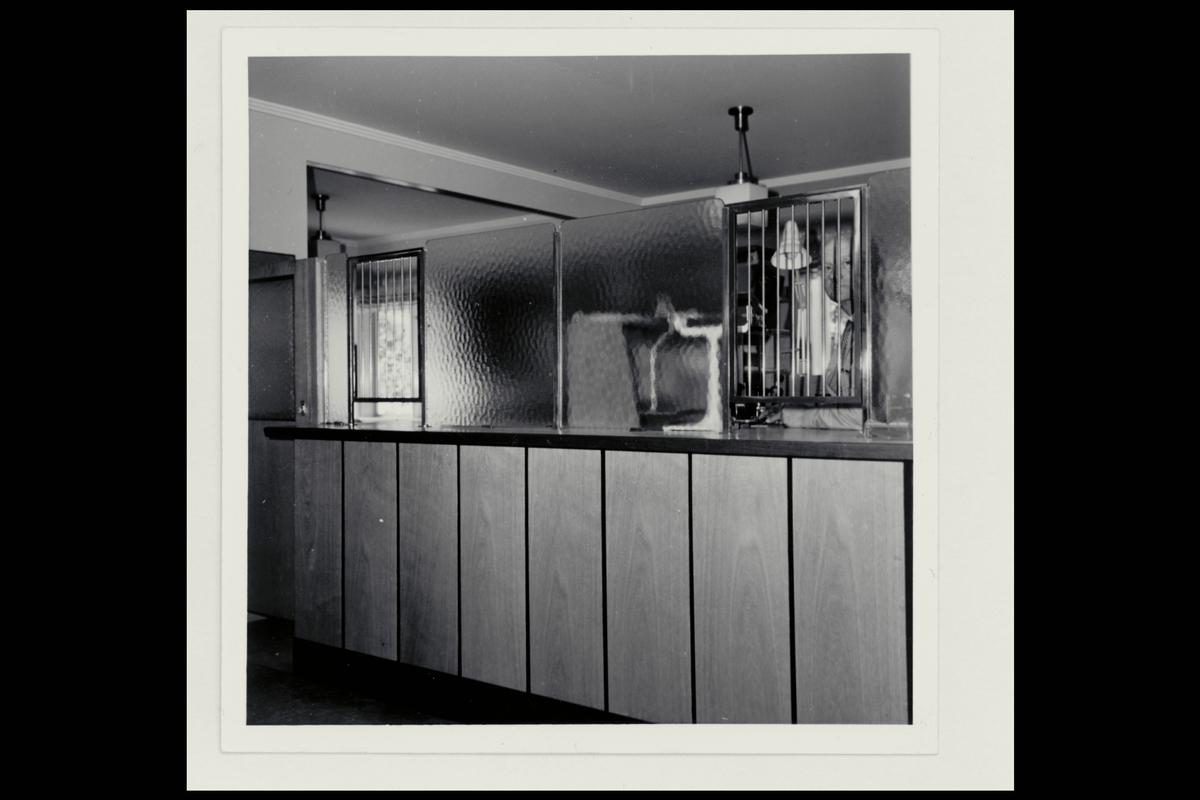 interiør, poståpneri, 5840 Hermansverk, publikumshall