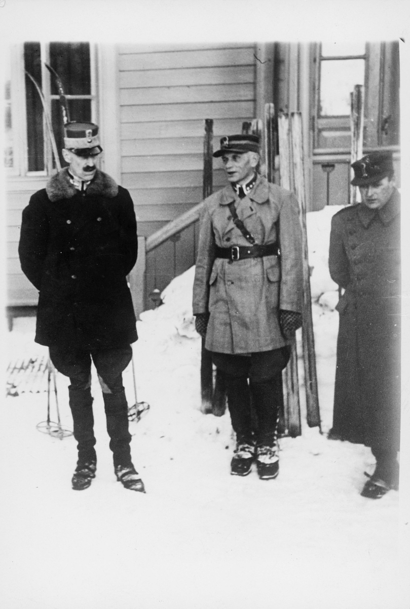 krigen, H.M. Kong Haakon, H.K.H. Kronprins Olav, General Ruge, Nord-Norge april -mai 1940