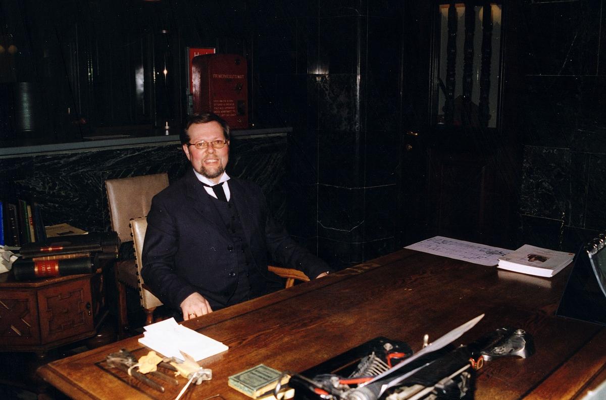 postjubileum, Oslo Sentrum postkontor 75 år, Jan Angeltun