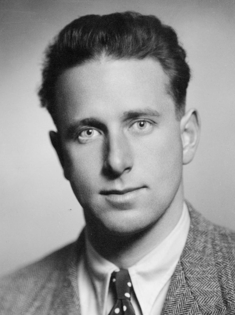 Widerøe Arild, portrett