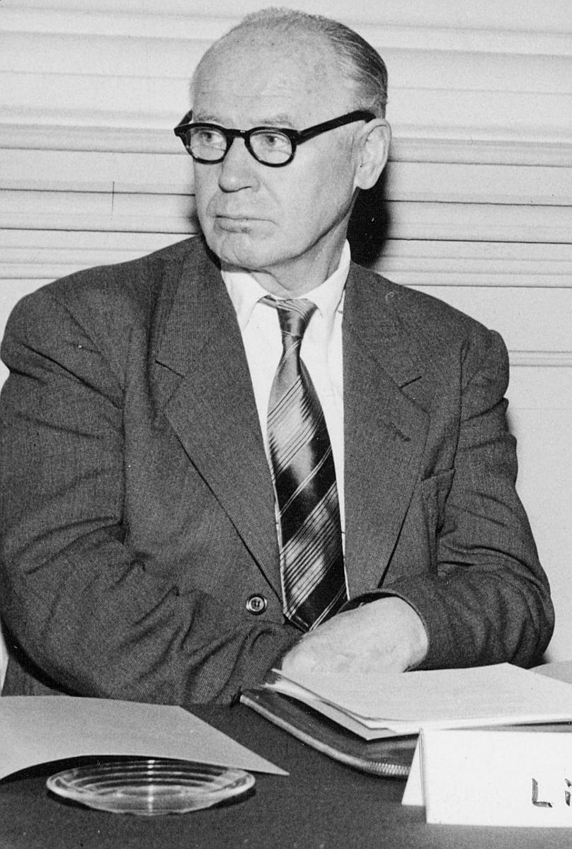 portrett, trafikkdirektør, Ingvald Lid