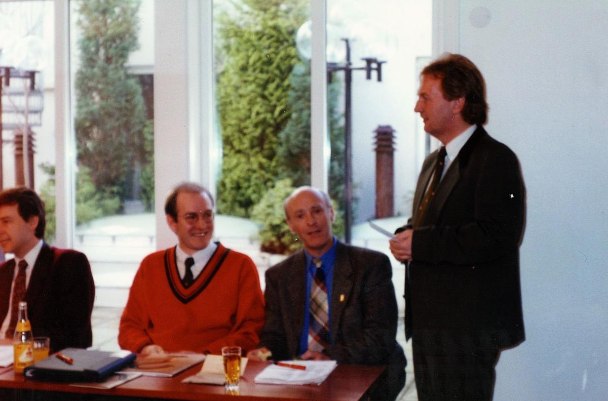 begrepet personale, Haugesund, DM seminar, fire menn