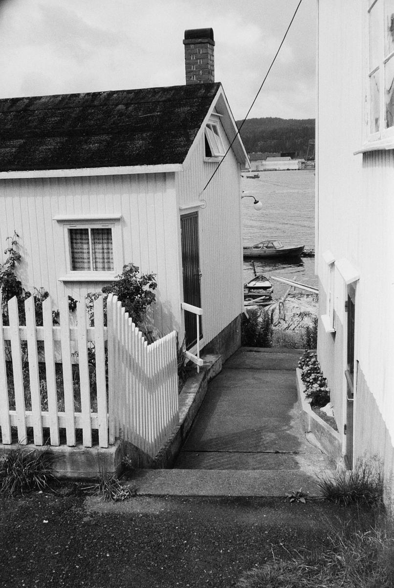 norgesbilde, Kragerø, hus, vann