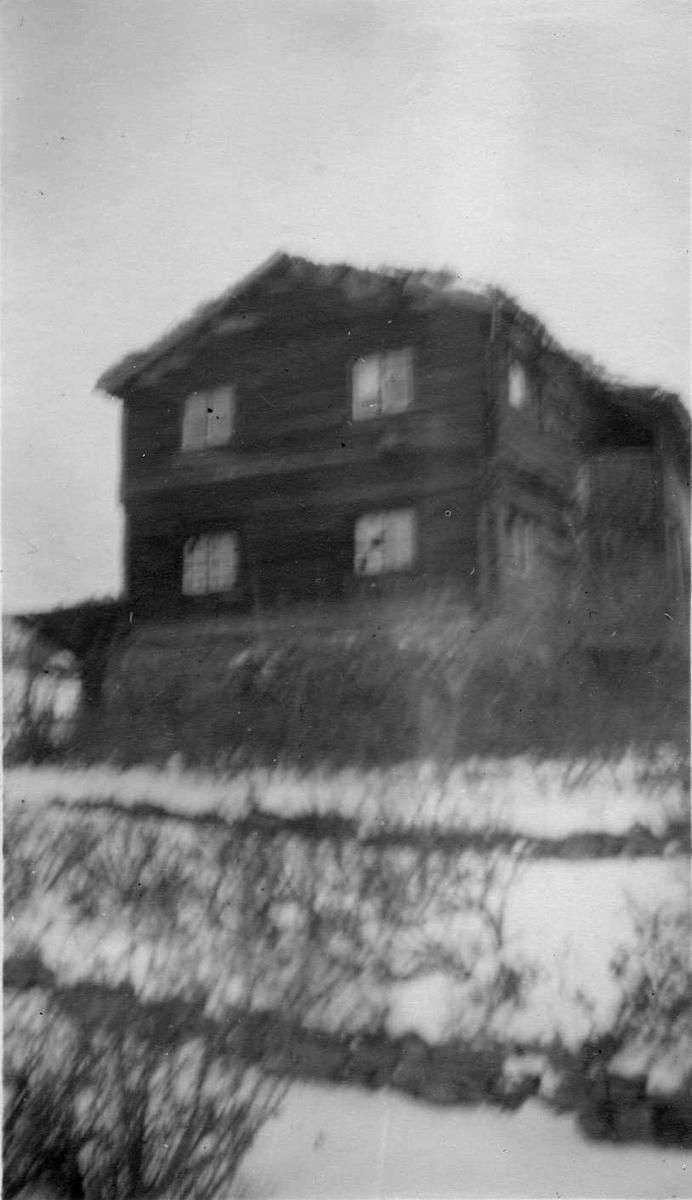 Bygning, tømmerhus, Dalsegg